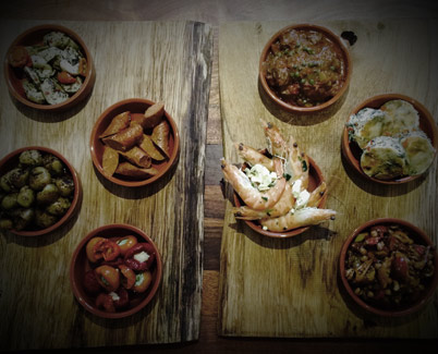 Bowl Food and Tapas - Hungry Mule Catering Bridport Dorset