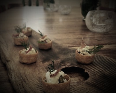 Canapes - Hungry Mule Catering Bridport Dorset