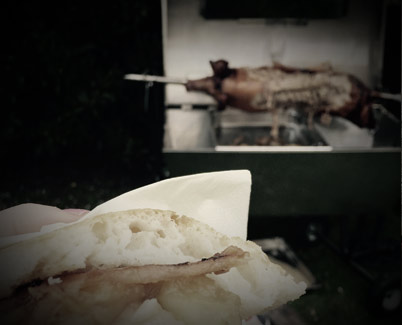 Hog Roast Catering by Hungry Mule Bridport Dorset
